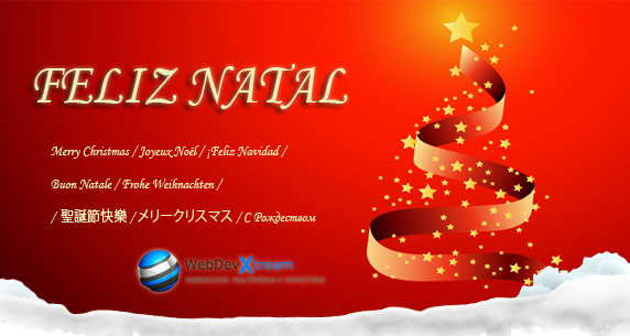 Feliz Nata 2012 - WebDevXtream